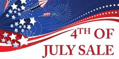 HUGE! 4th of July Sale