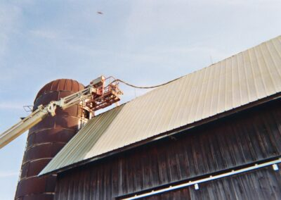 BARN ROOF APPLICATION BY WEATHERTIGHT