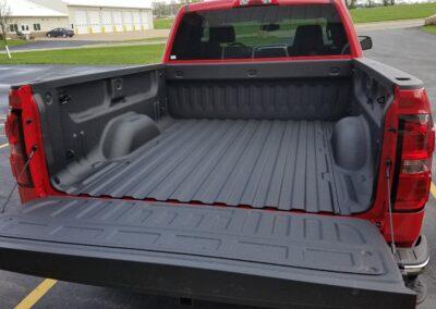 BEDLINER - red truck3